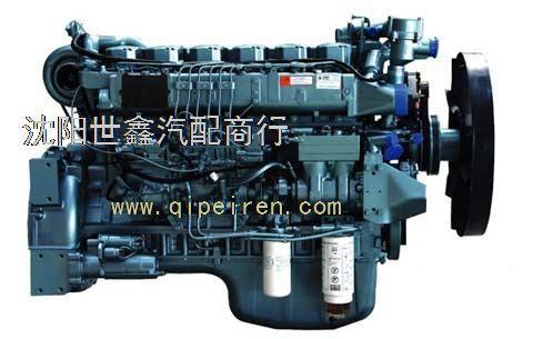 大柴498发动机缸体结构名称介绍